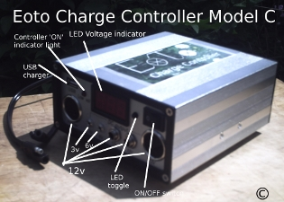 Eoto solar panel Charge Controller Model C