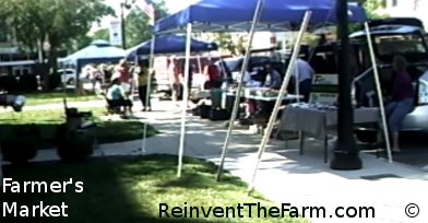 Open air Farmer's Market